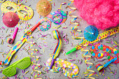 istock Carnival or birthday party background 670839782