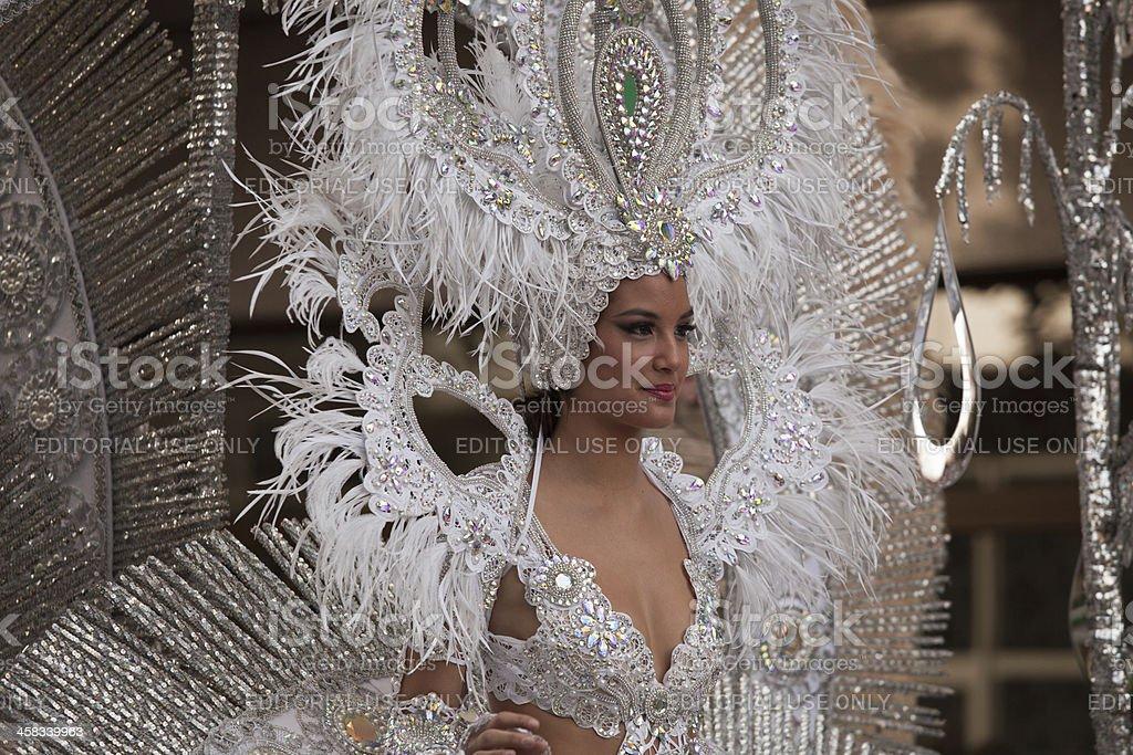 Carnival Parade Beauty stock photo