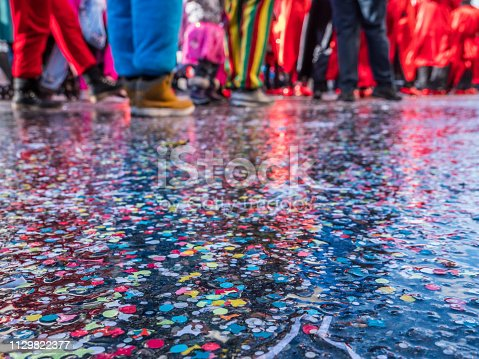 istock Carnival parade in Germany 1129822377