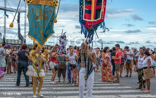 istock Carnival parade in Recife downtown 1216071780