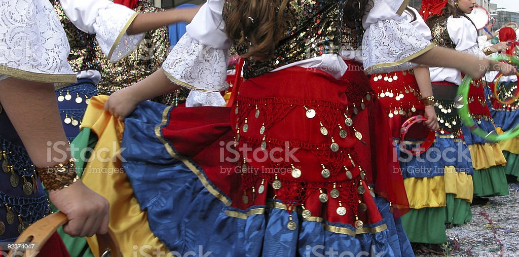 Carnival Parade, Limassol royalty-free stock photo