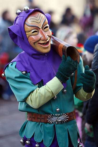 karnevalsparty - fasnacht stock-fotos und bilder