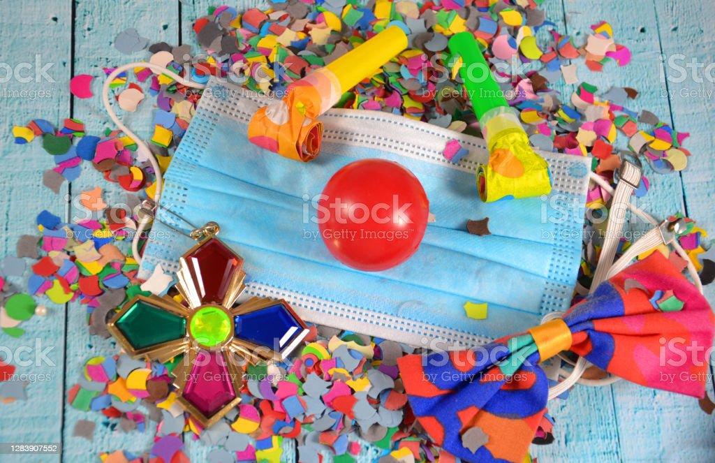 Carnival carnival during corona 2020 Stock Photo