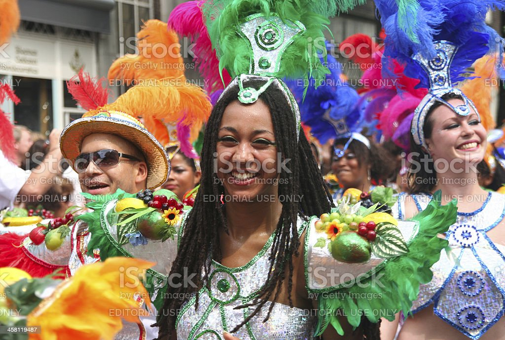 Carnival Queen royalty-free stock photo