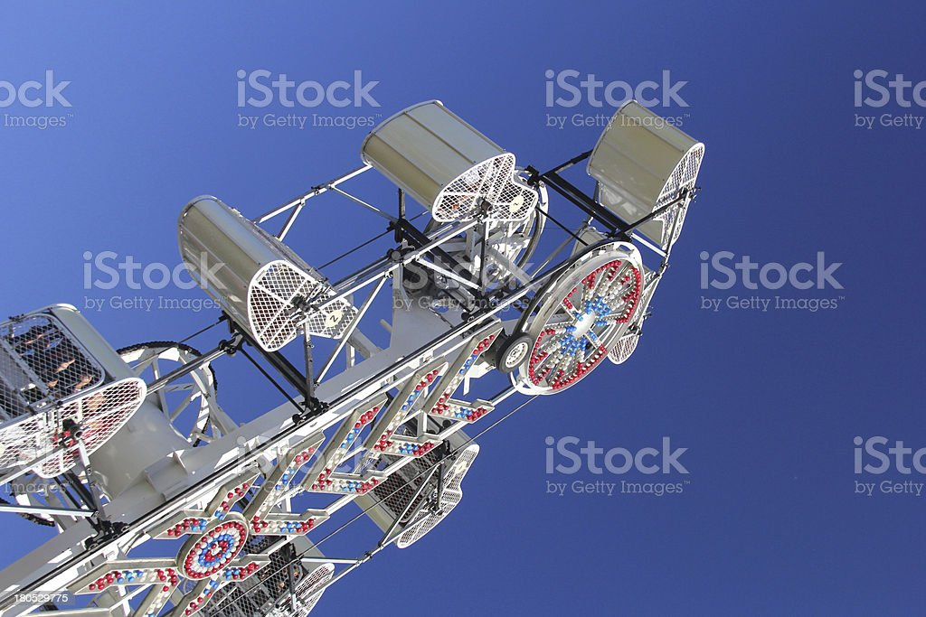 Carnival Ride- Zipper royalty-free stock photo