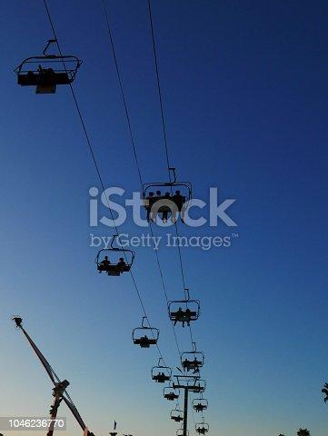 Farris Wheel and Sky Ride