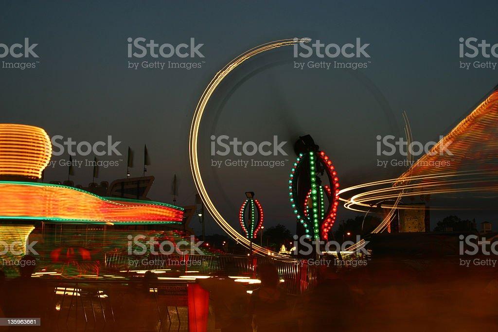 Carnival Rides royalty-free stock photo