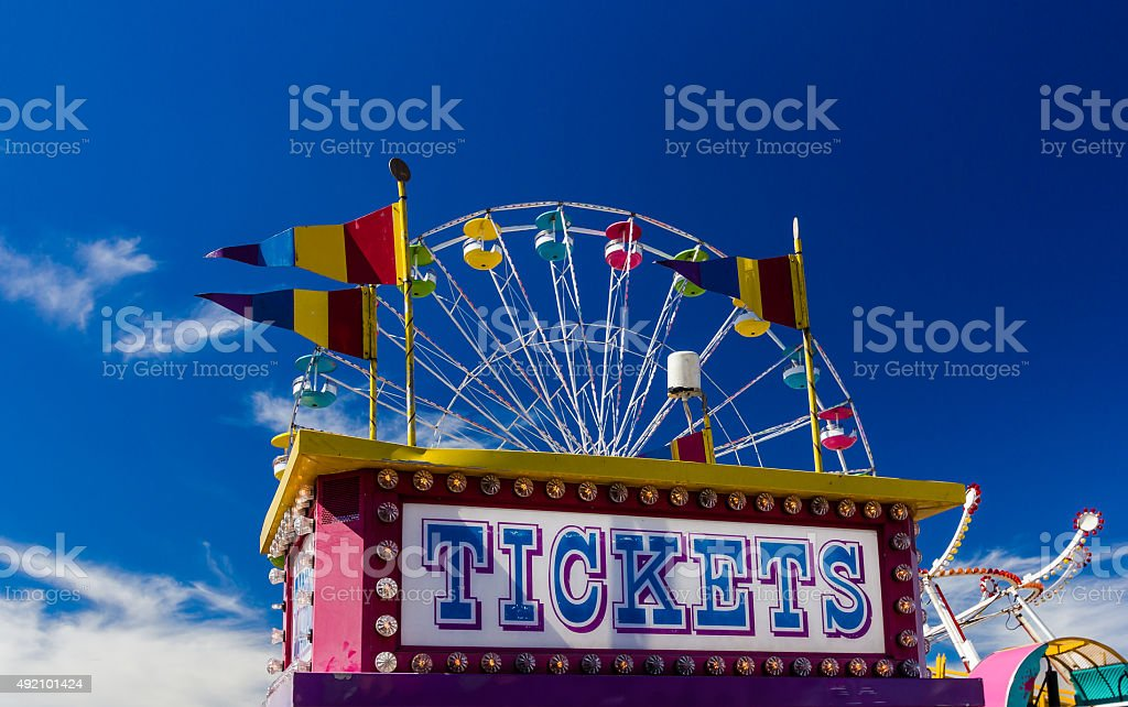 Carnival Rides stock photo
