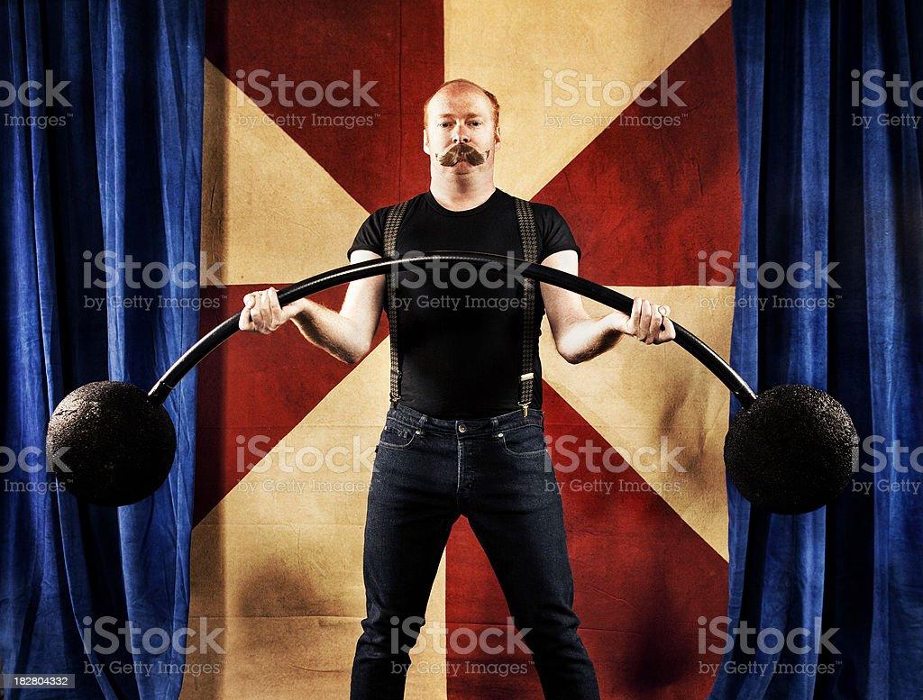 Carnival Series: Strong Man stock photo