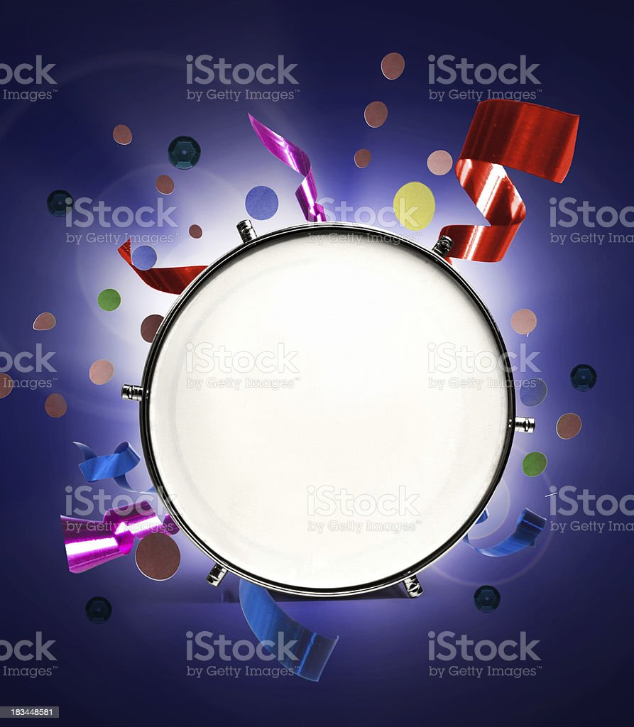 Carnival with space for text royalty-free stock photo