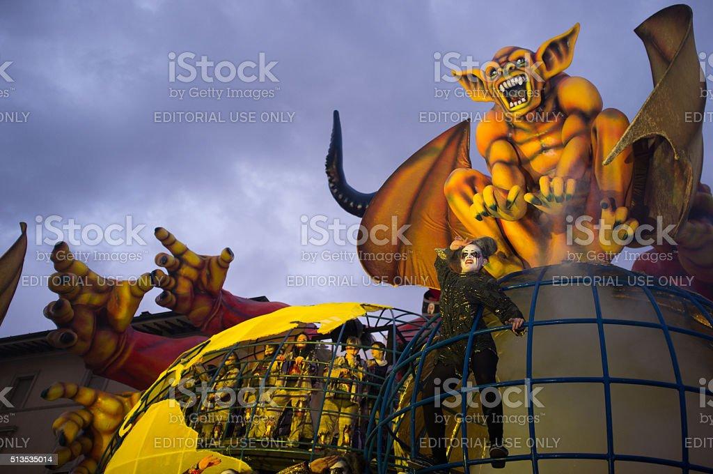 Carnival,Viareggio,Italy,europe stock photo
