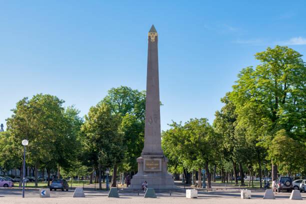 Carnot monument in Nancy stock photo