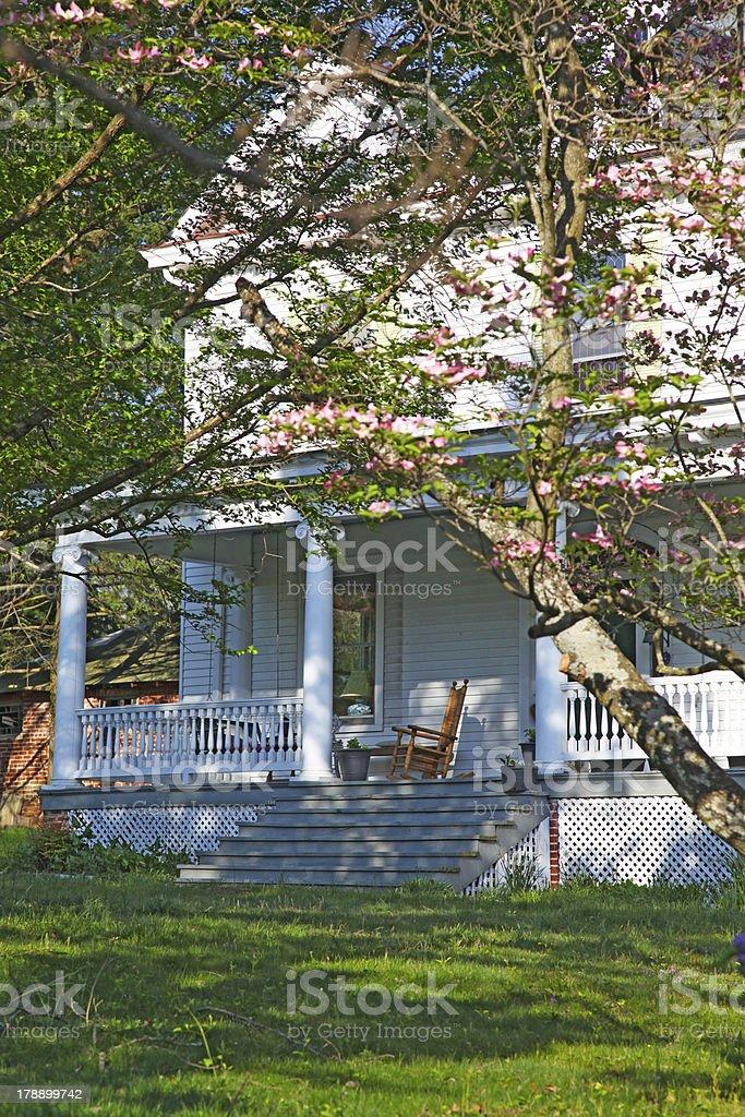 Carolina Porch royalty-free stock photo