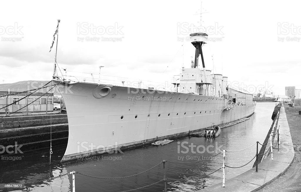 HMS Caroline - foto stock