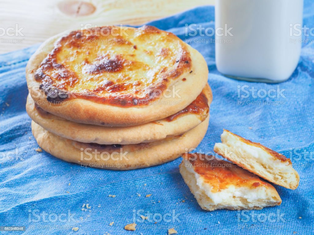 Carols cheesecake met kwark royalty free stockfoto