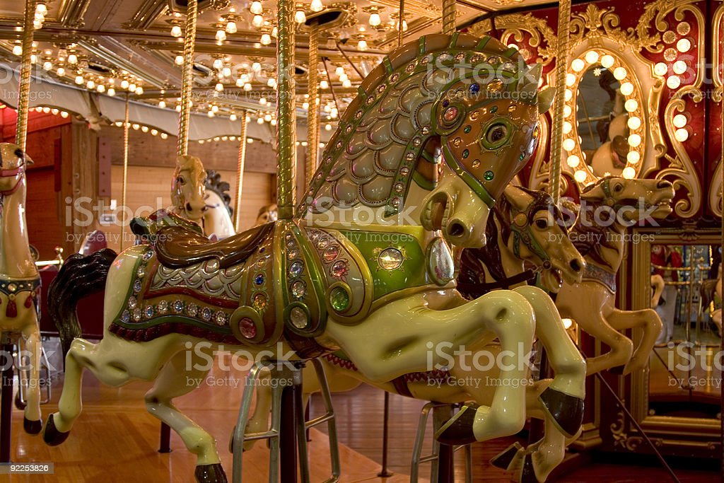 Carousel 3 royalty-free stock photo