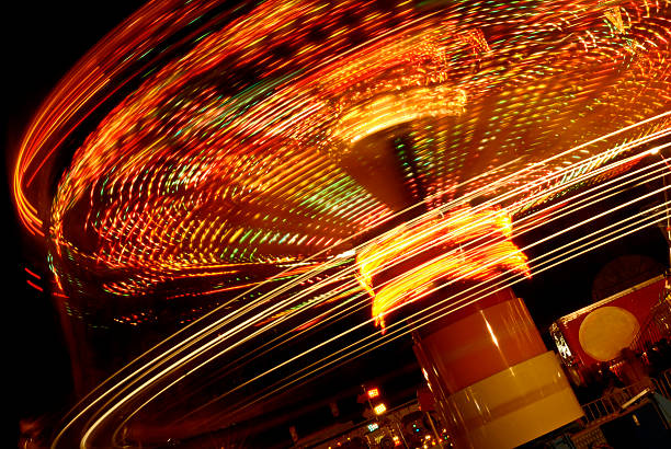 Carousel Abstract stock photo