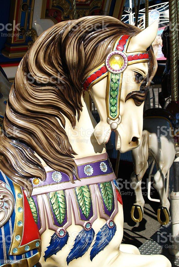 Carousel Horse Merry Go Round Stock Photo Download Image Now Istock