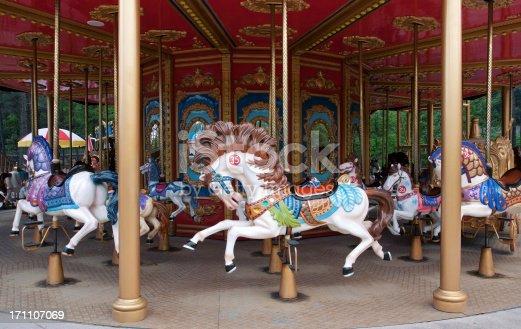 Carousel horse (Merry-Go-Round)--------------------------------------------------------------------------------Ea|Please click other similar images on my portfolio. Thx! ;)