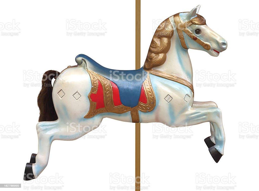 Carousel Horse royalty-free stock photo
