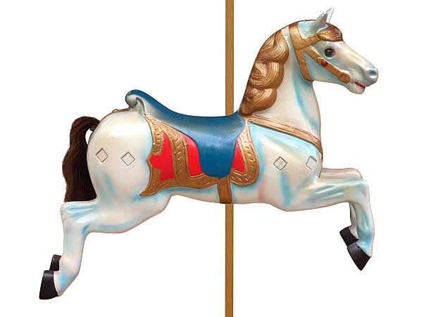 karussell horse - karussell stock-fotos und bilder