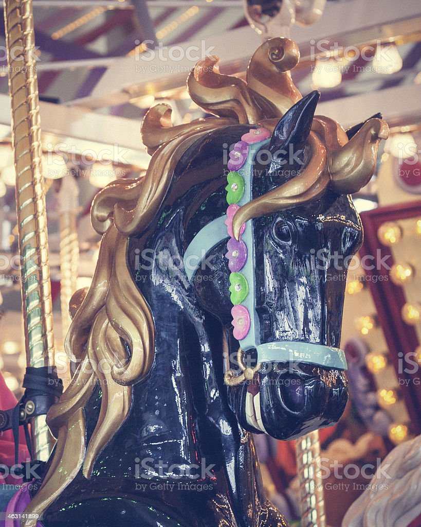 Carousel Horse Stock Photo Download Image Now Istock