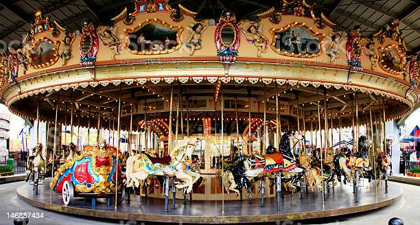 Carousel - shot during the day.