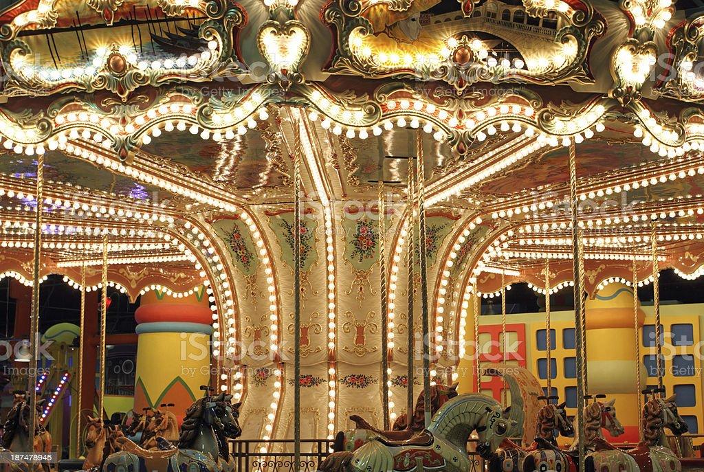 Carousel royalty-free stock photo