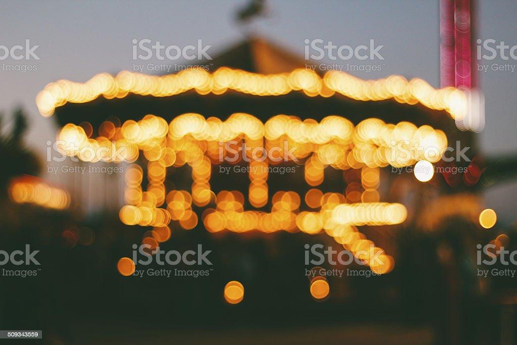 Carousel stock photo