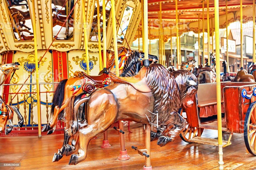 Carousel. stock photo