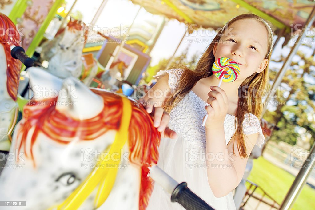 Carousel Ride stock photo