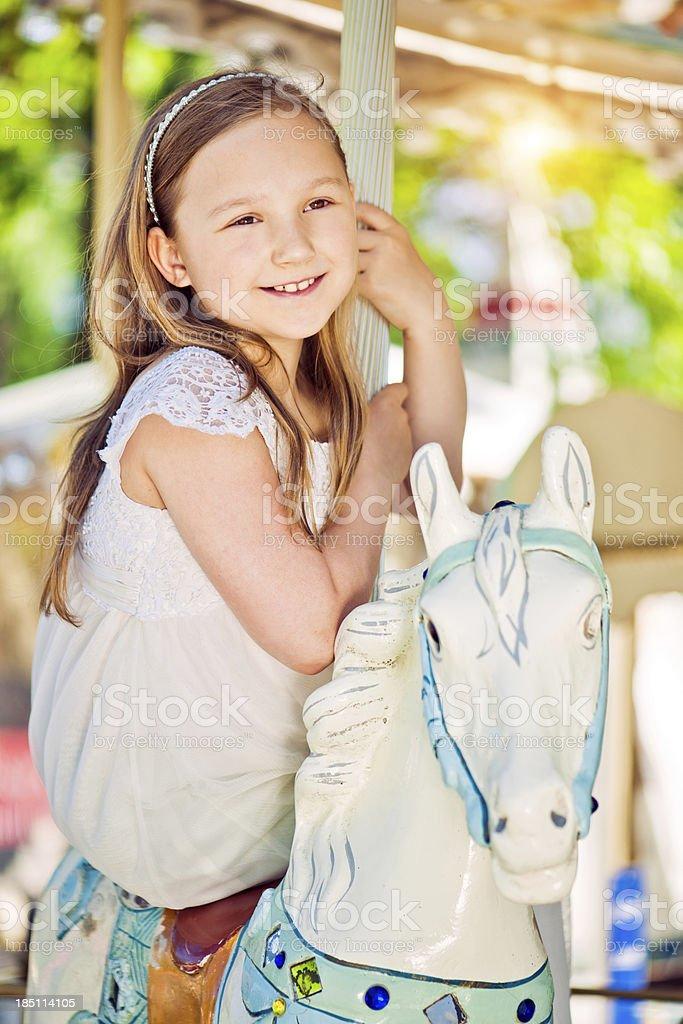 Carousel Ride royalty-free stock photo