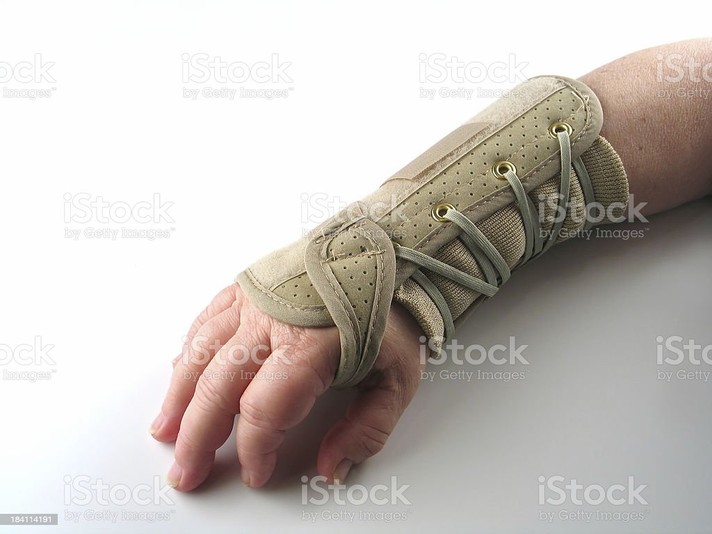 Carpal 2 stock photo