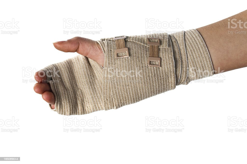 Carpal Tunnel in Wrist royalty-free stock photo