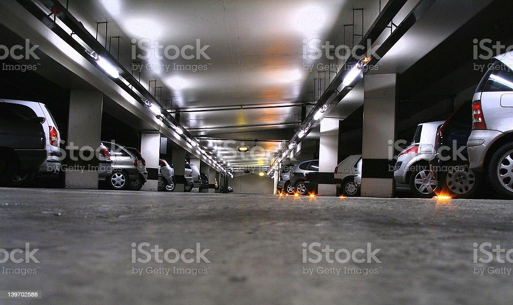 carpark stock photo