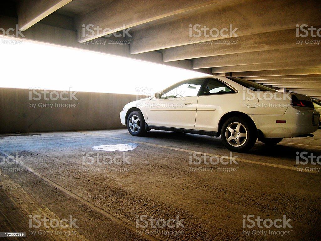 Carpark royalty-free stock photo