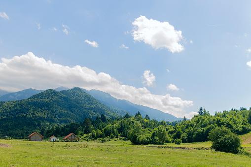 carpathian mountain range Romania