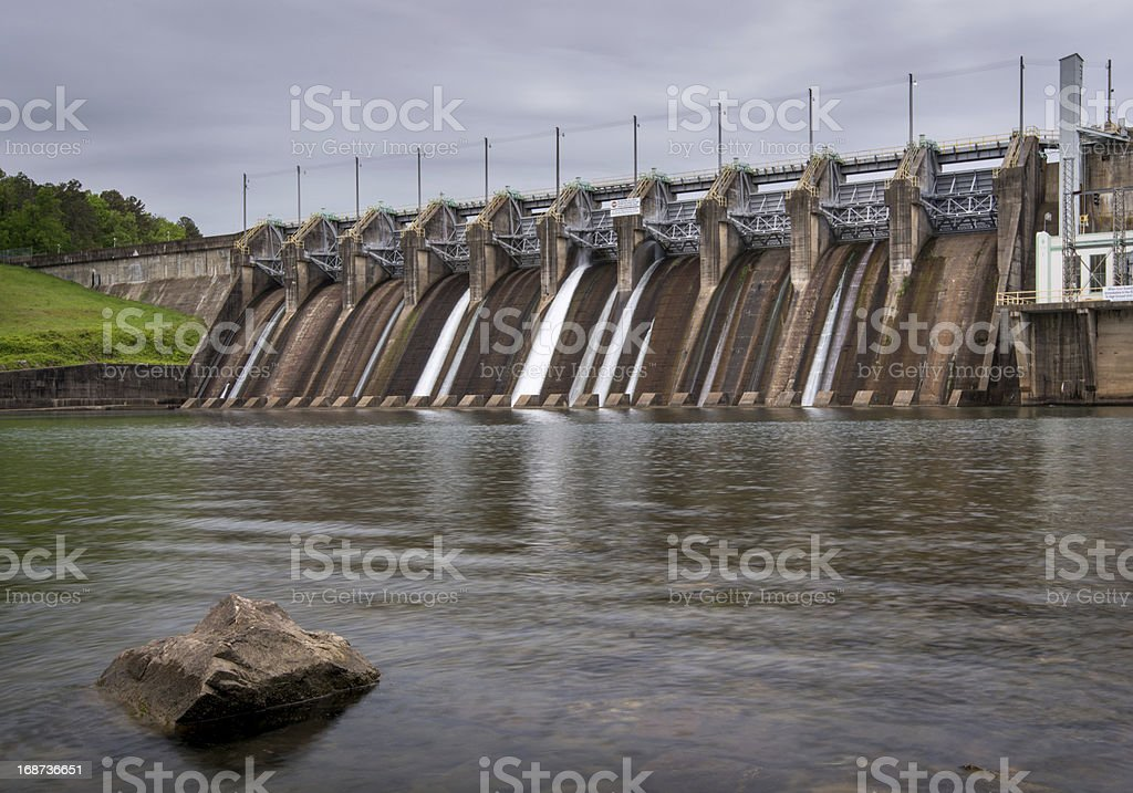Carpenter Dam royalty-free stock photo
