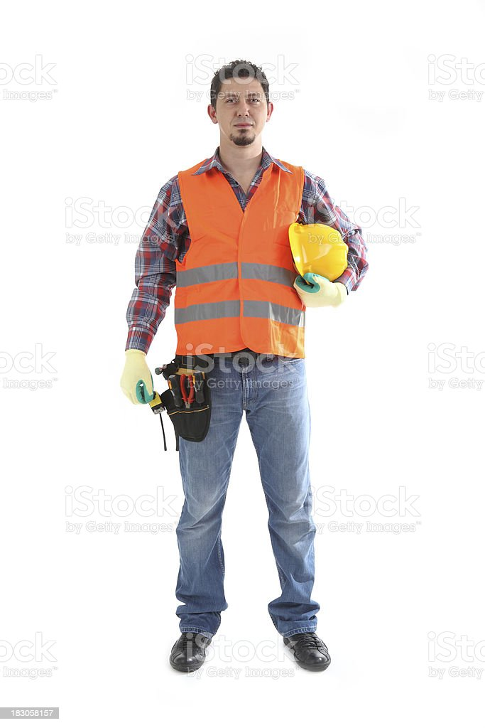 Carpenter stock photo