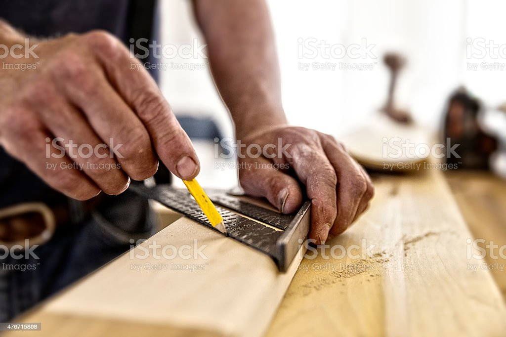 Carpenter Square stock photo