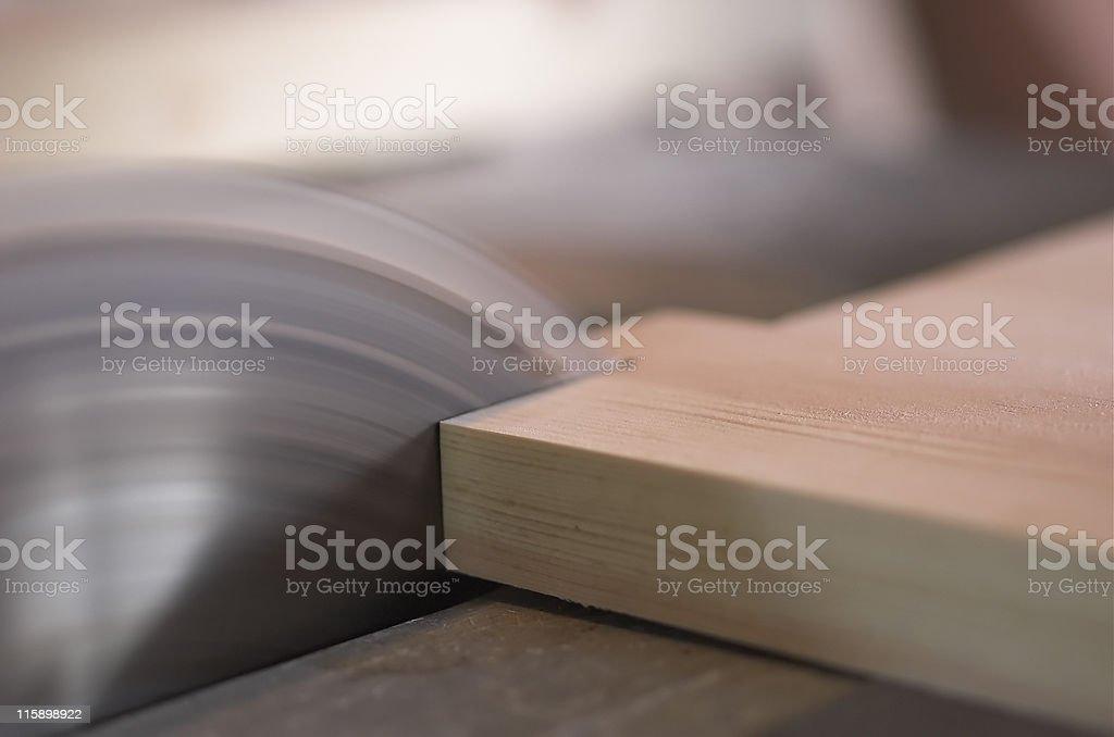 Carpenter's circular Saw royalty-free stock photo