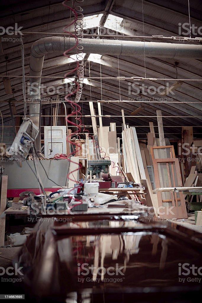 carpenter's laboratory royalty-free stock photo