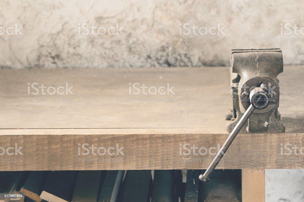 Carpenters 'office' stock photo