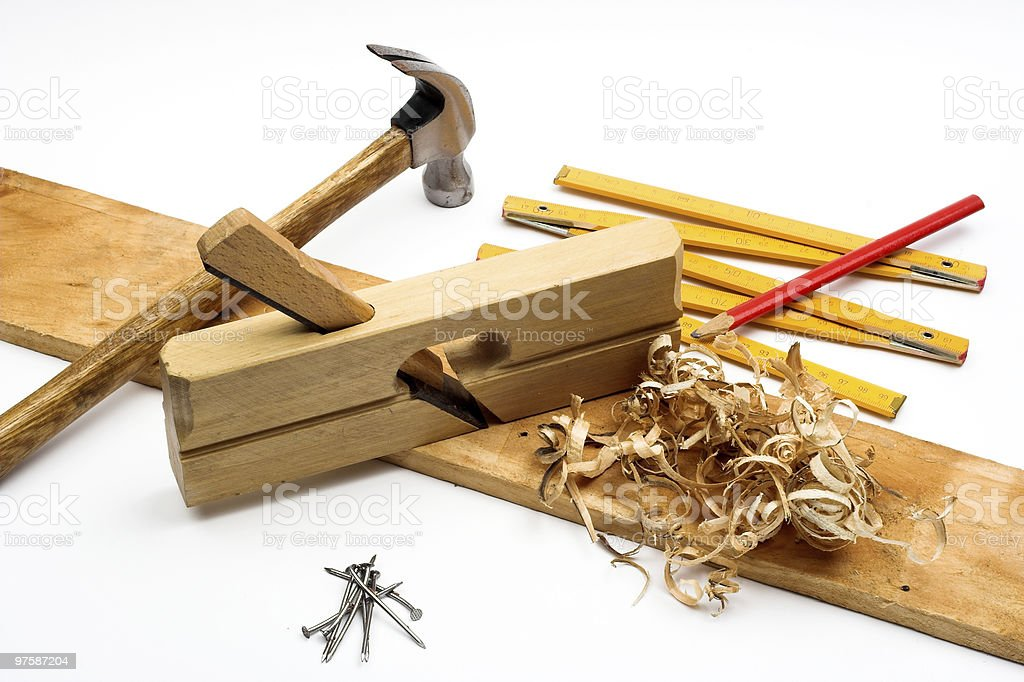 carpenter's tool royalty-free stock photo