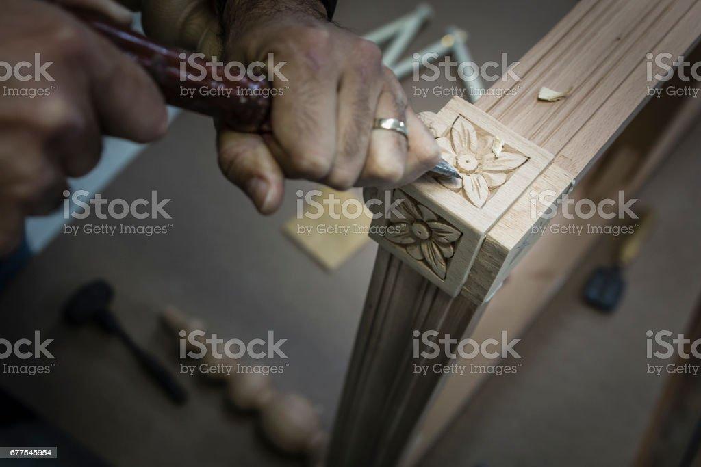 Carpenter's wood work - tools