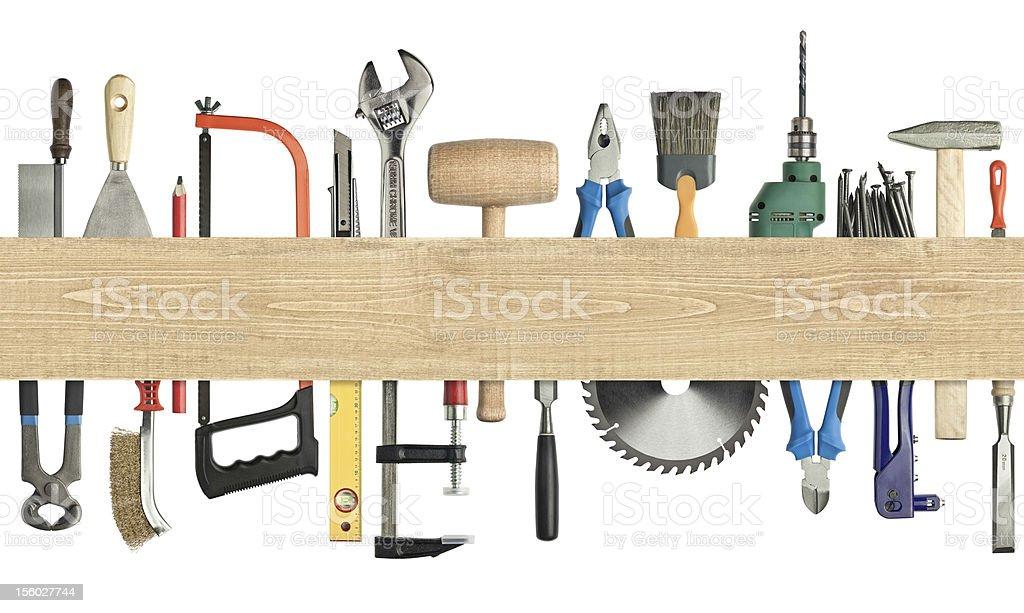 Carpentry background royalty-free stock photo