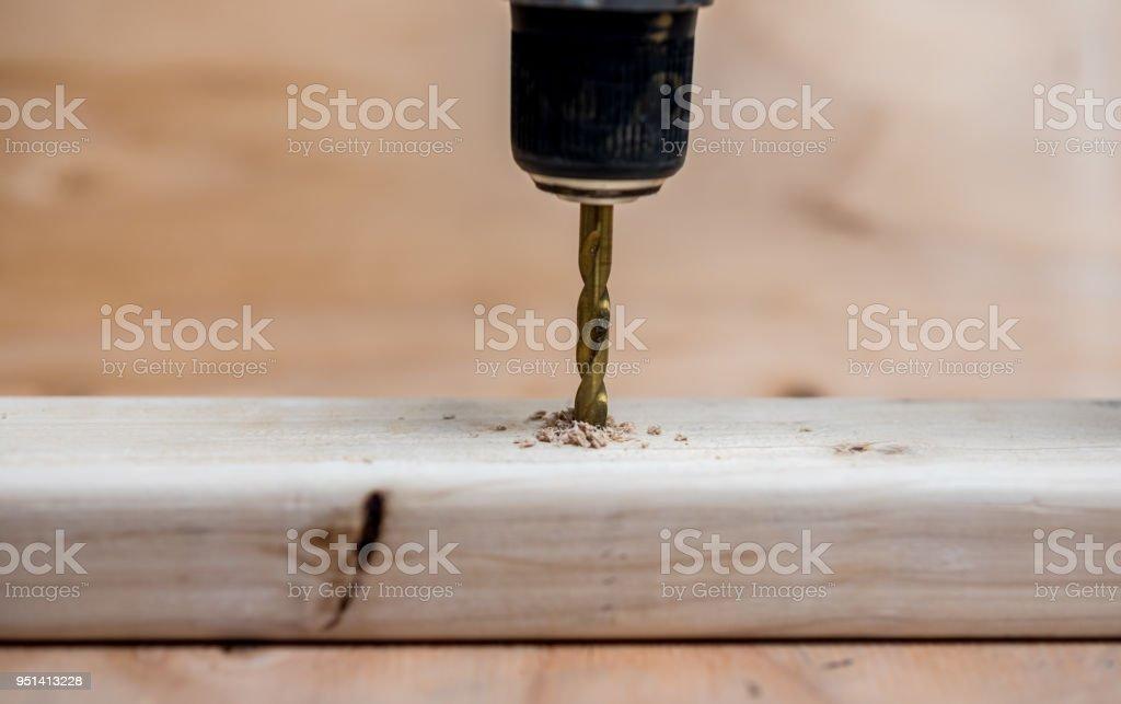 Carpentry Mornings stock photo