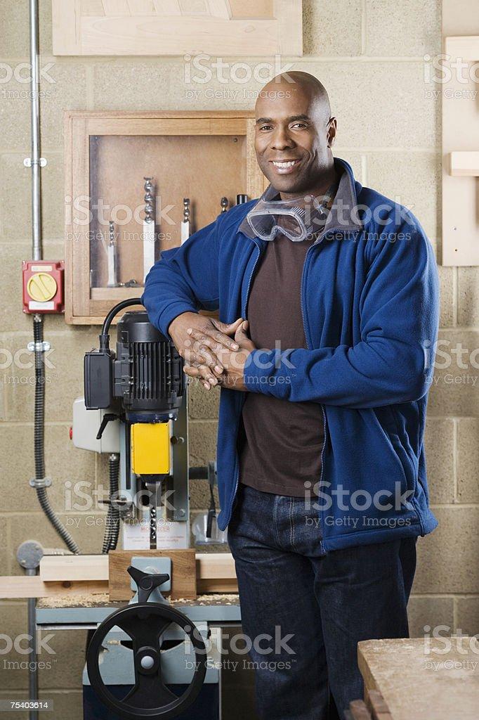 Carpintaria Professor Particular foto de stock royalty-free