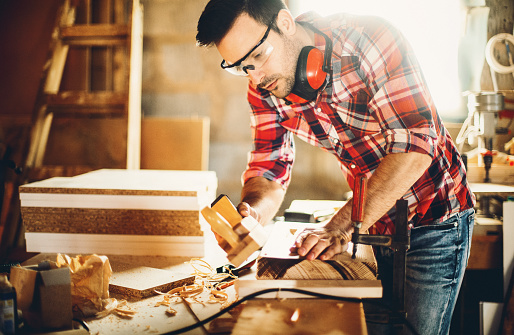 Carpentry workshop.