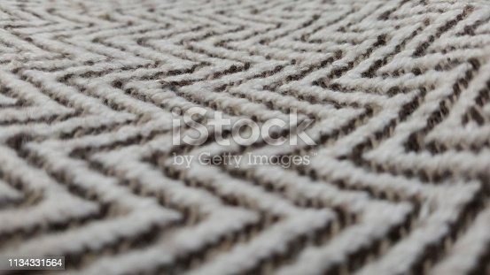Selective focus on carpet.